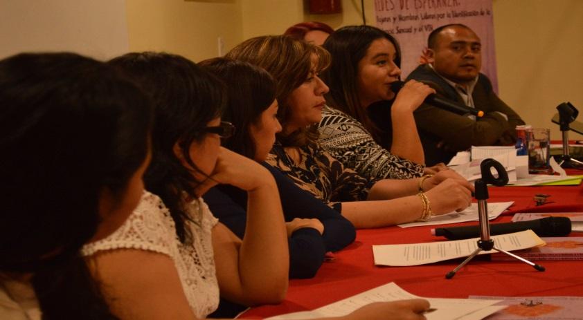 """Presentación del Libro """"Redes de Esperanza: Mujeres y hombres líderes por la identificación de la violencia sexual y el VIH"""""""