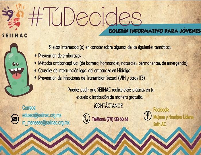 Platica sobre sexualidad en Colegio de Bachilleres, Tizayuca