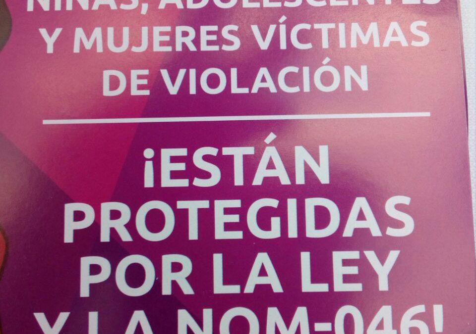 """Presentación de la campaña """"Tú puedes elegir un aborto legal"""""""