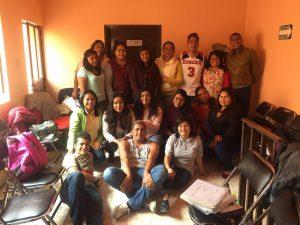 Grupo de personas promotoras de los derechos de las infancias (Cachicuatas y cachicuates)