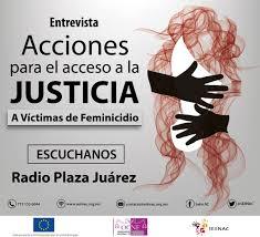 Acciones para el Acceso a la Justicia a Víctimas de Feminicidio en Hidalgo.
