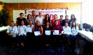 Presentación de la agenda legislativa mujeres 2018