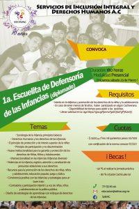 Banner 1ra escuelita de derechos de las infancias
