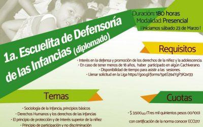 Impartirá SEIINAC Diplomado en Derechos de las Infancias