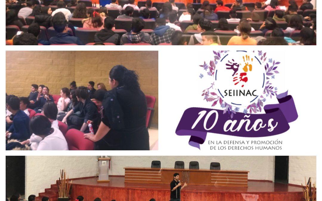 Conferencia sobre derechos sexuales y reproductivos, métodos anticonceptivos y masculinidades ICSA UAEH